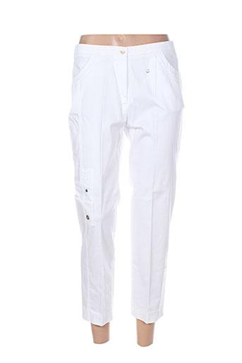 jean gabriel pantacourts femme de couleur blanc
