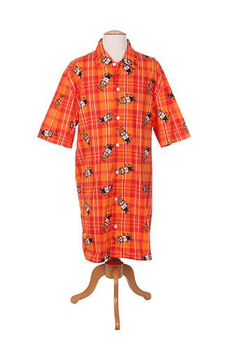 coup de coeur nuit homme de couleur orange