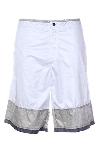 nero perla maillots de bain homme de couleur blanc