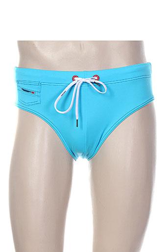 diesel maillots de bain homme de couleur bleu