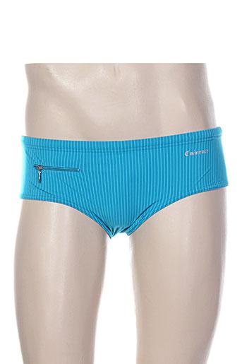 eminence maillots de bain homme de couleur bleu