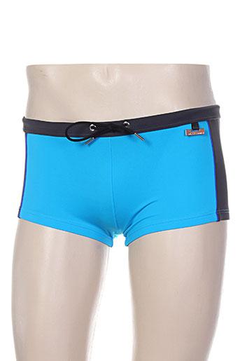 Short de bain bleu HOM pour homme