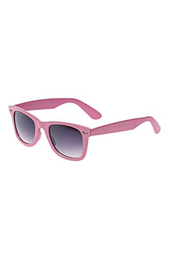 Lunettes de soleil rose BAHIA BEACH BAULE pour femme