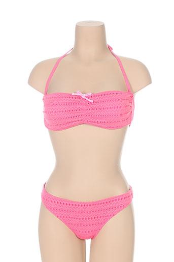 borabora maillots de bain femme de couleur rose