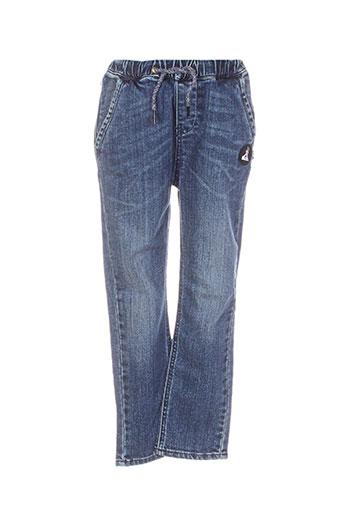 quiksilver jeans garçon de couleur bleu