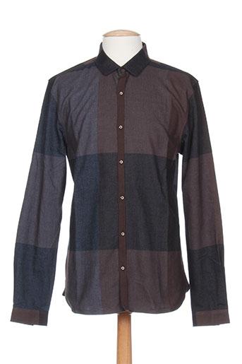 kiliwatch chemises homme de couleur marron