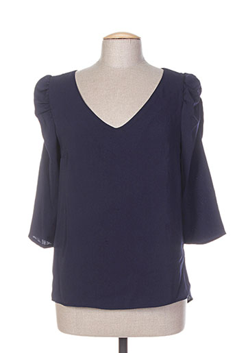 purple's tuniques femme de couleur bleu