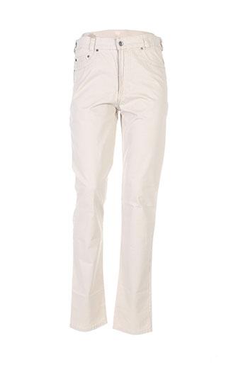 couturist pantalons homme de couleur beige