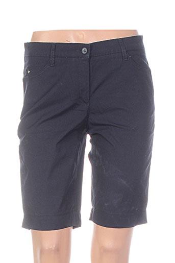 couturist shorts / bermudas femme de couleur noir