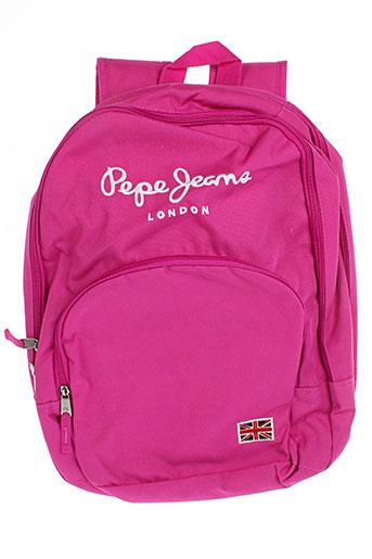 pepe jeans accessoires fille de couleur rose