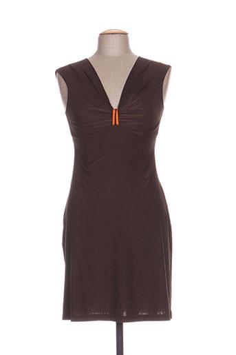 antigel robes femme de couleur marron