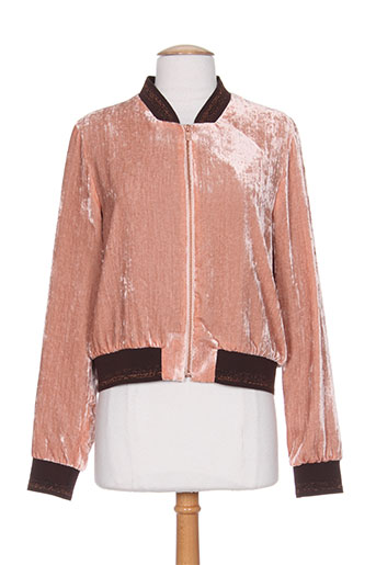 one step vestes femme de couleur rose