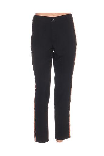 five pantalons femme de couleur noir