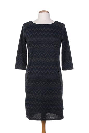 fransa robes femme de couleur bleu