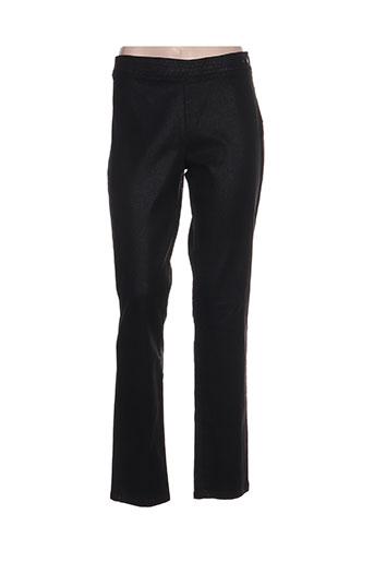 voodoo pantalons femme de couleur noir