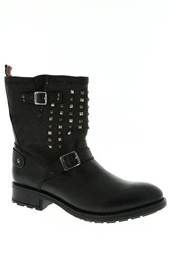 pepe jeans chaussures femme de couleur noir