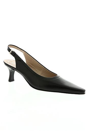salamander chaussures femme de couleur noir