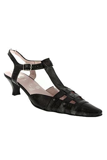 elantine chaussures femme de couleur gris