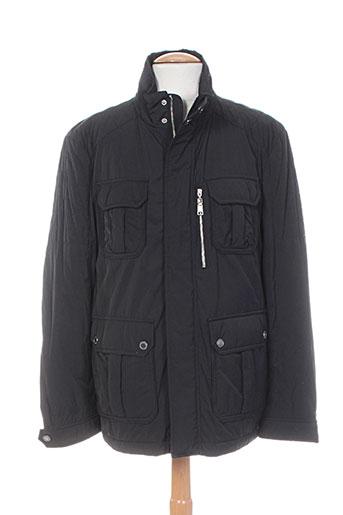 digel manteaux homme de couleur noir