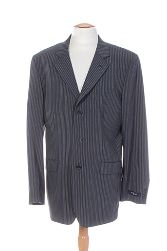 optimal vestes homme de couleur noir