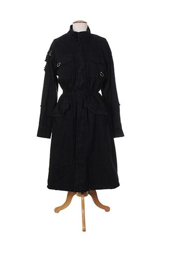 y.two manteaux femme de couleur noir