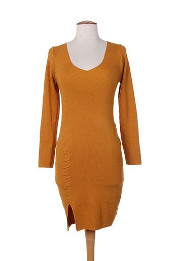 bisou's project robes femme de couleur jaune