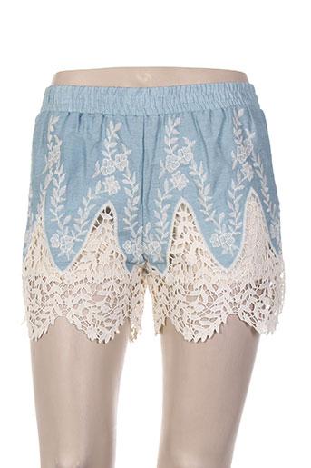 luc & ce shorts / bermudas femme de couleur bleu