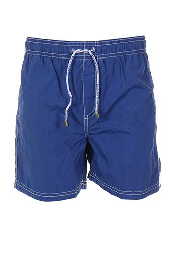 ritchie maillots de bain garçon de couleur bleu