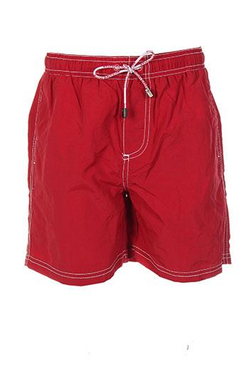 ritchie maillots de bain garçon de couleur rouge