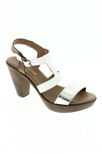 paula urban chaussures femme de couleur blanc
