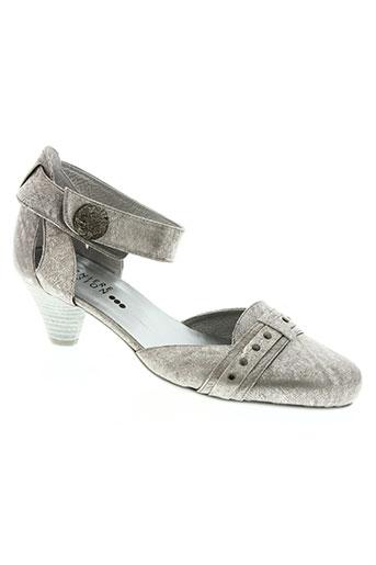 derniere version chaussures femme de couleur gris
