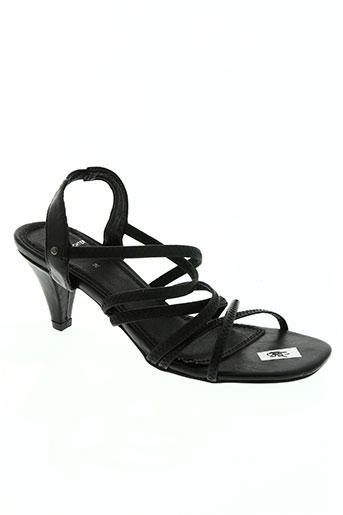 daniel hechter chaussures femme de couleur noir
