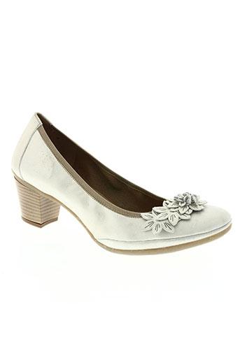 paco valiente chaussures femme de couleur beige