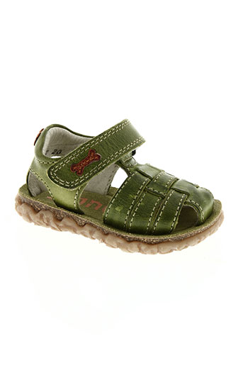 stones and bones chaussures garçon de couleur vert