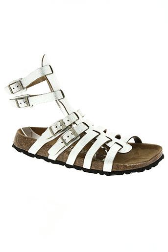 betula chaussures femme de couleur gris