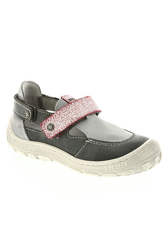 ikks chaussures garçon de couleur gris