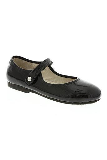 petit bateau chaussures fille de couleur noir