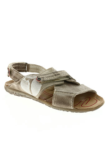 telyoh chaussures garçon de couleur beige