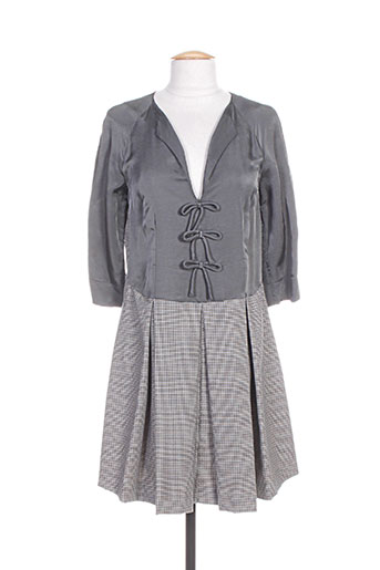 Robe courte gris TWINSET pour femme