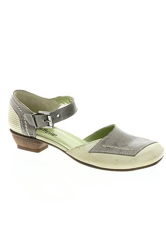 fidji chaussures femme de couleur vert