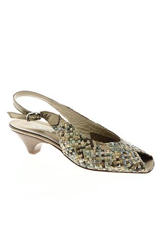 romani chaussures femme de couleur marron