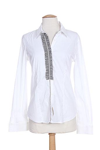 fabiana filippi chemises femme de couleur blanc