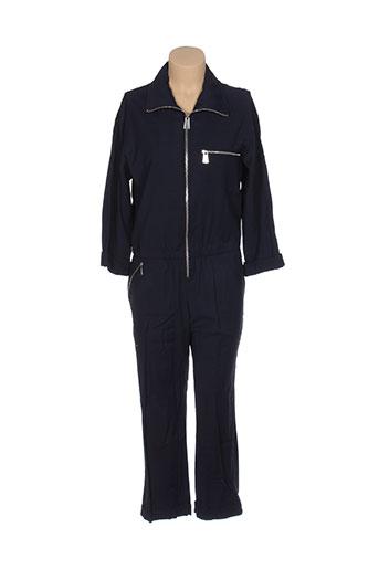 margaux lonnberg combinaisons femme de couleur bleu