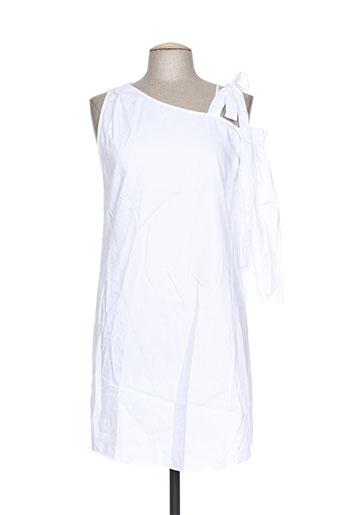 intropia robes femme de couleur blanc