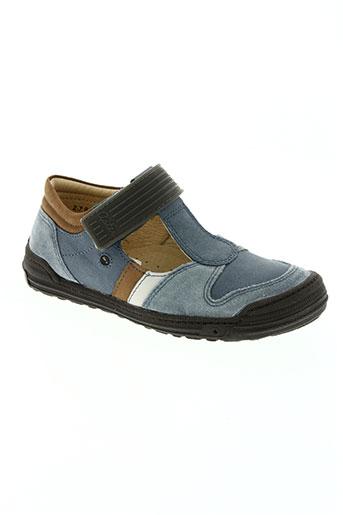 aster chaussures garçon de couleur marron
