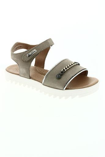 isabella balducci chaussures fille de couleur beige
