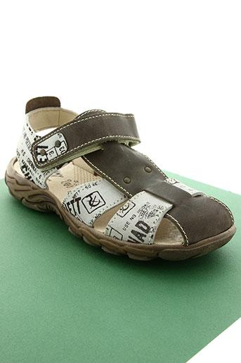 bellamy chaussures garçon de couleur beige