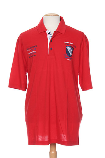 capri t-shirts homme de couleur rouge