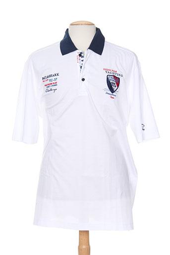 capri t-shirts homme de couleur blanc
