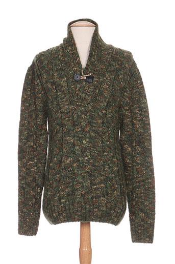 marco nils pulls homme de couleur vert